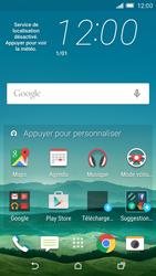 HTC One M9 - Applications - Télécharger une application - Étape 1