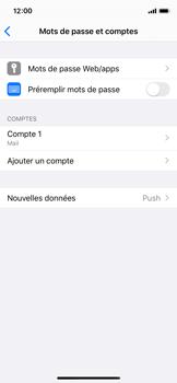 Apple iPhone X - iOS 13 - E-mail - Configuration manuelle - Étape 43