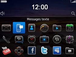 BlackBerry 9780 Bold - SMS - Configuration manuelle - Étape 3