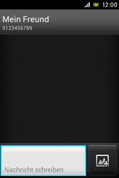 Sony Xperia E - MMS - Erstellen und senden - Schritt 11