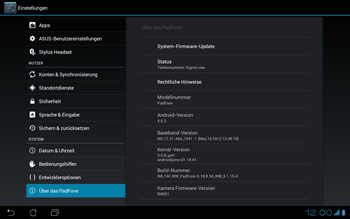Asus Padfone - Software - Update - 6 / 8
