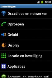 Samsung S5830i Galaxy Ace i - bluetooth - aanzetten - stap 4