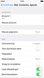 Apple iPhone 6 iOS 8 - E-mail - Account instellen (POP3 met SMTP-verificatie) - Stap 16