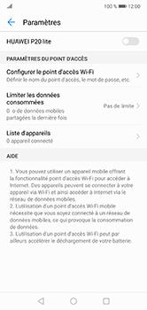 Huawei P20 lite - Internet et connexion - Partager votre connexion en Wi-Fi - Étape 9