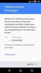 Sony Xperia XA - Apps - Einrichten des App Stores - Schritt 14