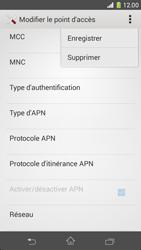 Sony Xperia Z1 Compact - Internet et roaming de données - Configuration manuelle - Étape 16