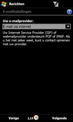 Samsung B7610 Omnia Qwerty - E-mail - e-mail instellen: POP3 - Stap 7
