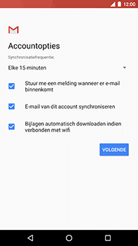 Android One GM5Plus DS - E-mail - handmatig instellen (yahoo) - Stap 11