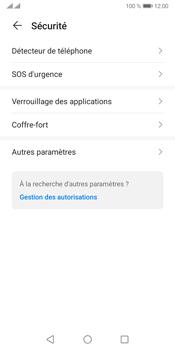 Huawei Y5P - Sécuriser votre mobile - Personnaliser le code PIN de votre carte SIM - Étape 4