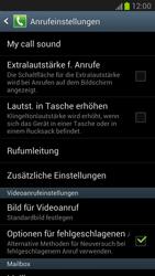 Samsung N7100 Galaxy Note 2 - Anrufe - Rufumleitungen setzen und löschen - Schritt 5