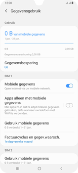 Samsung Galaxy A70 - internet - data uitzetten - stap 6