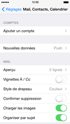 Apple iPhone 5s - E-mail - 032c. Email wizard - Outlook - Étape 5