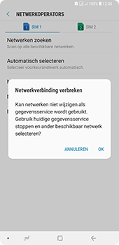 Samsung Galaxy A9 - Bellen - in het buitenland - Stap 12
