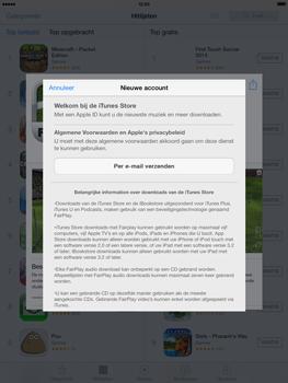 Apple iPad 4th generation (Retina) met iOS 7 - Applicaties - Account aanmaken - Stap 9