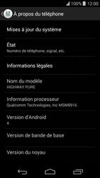 Wiko Highway Pure - Logiciels - Installation de mises à jour - Étape 5