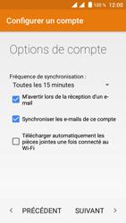 Crosscall Trekker M1 Core - E-mail - Configuration manuelle - Étape 19