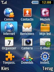 Samsung B2710 Xcover 271 - Internet - Hoe te internetten - Stap 2