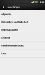 HTC Desire 500 - Internet - Manuelle Konfiguration - Schritt 20