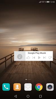 Huawei Mate 9 - Startanleitung - Installieren von Widgets und Apps auf der Startseite - Schritt 9