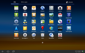 Samsung P7500 Galaxy Tab 10-1 - SMS - Handmatig instellen - Stap 3
