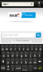 HTC One SV - Internet et roaming de données - Navigation sur Internet - Étape 15