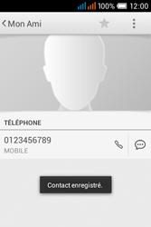 Alcatel OT-4015X Pop C1 - Contact, Appels, SMS/MMS - Ajouter un contact - Étape 8