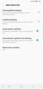 Samsung Galaxy Note9 - MMS - probleem met ontvangen - Stap 8