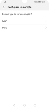 Huawei P Smart 2020 - E-mails - Ajouter ou modifier un compte e-mail - Étape 7