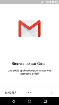 Sony Xperia Z5 Premium (E6853) - Android Nougat - E-mail - Configuration manuelle (gmail) - Étape 5