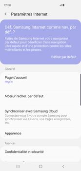 Samsung Galaxy S10 - Internet et roaming de données - Configuration manuelle - Étape 25