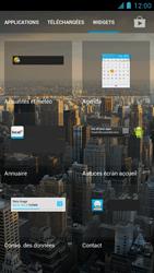 Alcatel One Touch Idol - Prise en main - Installation de widgets et d