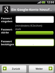 HTC Wildfire - Apps - Konto anlegen und einrichten - 1 / 1