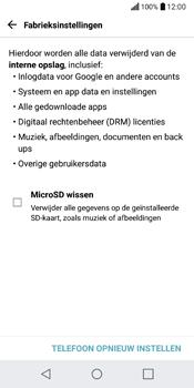 LG Q6 - toestel resetten - fabrieksinstellingen terugzetten - stap 7