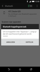 HTC Desire 620 - Bluetooth - Koppelen met ander apparaat - Stap 7