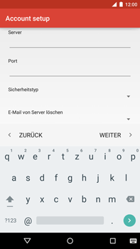 Motorola Google Nexus 6 - E-Mail - Konto einrichten - 0 / 0
