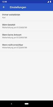 Google Pixel 3 - Anrufe - Rufumleitungen setzen und löschen - 8 / 11