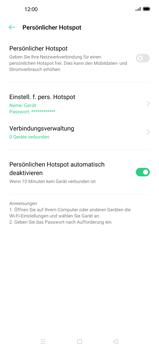 Oppo Find X2 Pro - WiFi - So aktivieren Sie einen WLAN-Hotspot - Schritt 6