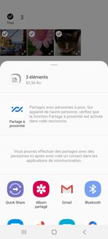 Samsung Galaxy S20 FE - Photos, vidéos, musique - Envoyer une photo via Bluetooth - Étape 11