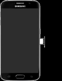 Samsung G920F Galaxy S6 - SIM-Karte - Einlegen - Schritt 5