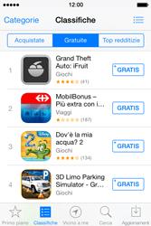 Apple iPhone 4S iOS 7 - Applicazioni - Installazione delle applicazioni - Fase 8