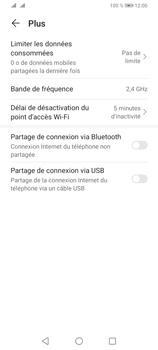 Huawei Y6P - Internet et connexion - Utiliser le mode modem par USB - Étape 8