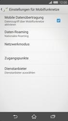 Sony Xperia Z2 - Internet und Datenroaming - Prüfen, ob Datenkonnektivität aktiviert ist - Schritt 8