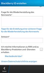 BlackBerry Z10 - Apps - Einrichten des App Stores - Schritt 11
