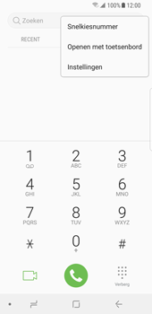 Samsung Galaxy S8 - Android Oreo (SM-G950F) - Bellen - WiFi Bellen (VoWiFi) - Stap 5