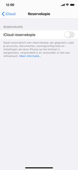 Apple iPhone 12 mini - toestel resetten - back-up maken met jouw account - stap 13