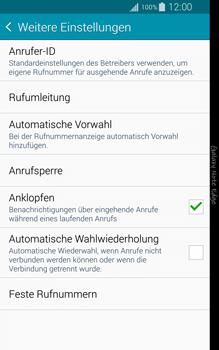 Samsung N915FY Galaxy Note Edge - Anrufe - Rufumleitungen setzen und löschen - Schritt 7