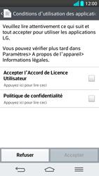 LG G2 - Premiers pas - Créer un compte - Étape 27