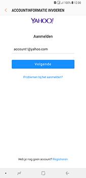 Samsung Galaxy A9 - E-mail - handmatig instellen (yahoo) - Stap 8