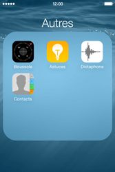 Apple iPhone 4S (iOS 8) - Contact, Appels, SMS/MMS - Ajouter un contact - Étape 4