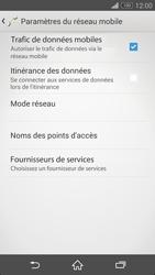 Sony Xperia Z3 Compact - Internet et roaming de données - Désactivation du roaming de données - Étape 7